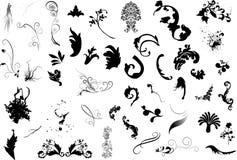 Design elements 2. Illustration drawing of design elements Royalty Free Stock Images