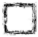 Design elements. Black Design elements with random shapes, vector illustration Stock Photos