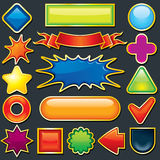 Design Elements. Colorful Design Elements For Your Design Royalty Free Stock Photo