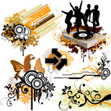 Design elements stock photo