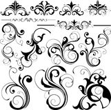 Design elements. Illustration drawing of design elements Royalty Free Stock Photos