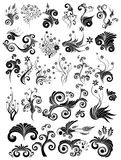 Design elements. Collection of abstract vector design elements, eps8 vector format Stock Photography