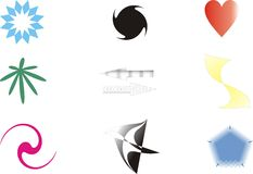 Design elements. And logos vector illustration