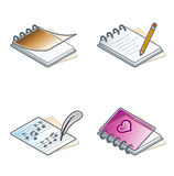 Design Elements 45a. Paper Suff Icons Set Royalty Free Stock Image