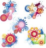 Design elements. Illustration drawing of design elements Stock Illustration