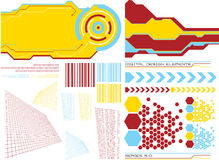 Design elements 5 Stock Images