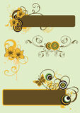 Design elements Stock Image