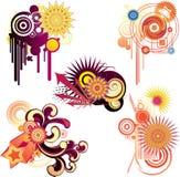 Design elements. Illustration drawing of design elements Vector Illustration