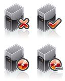 Design Elements 51d. Internet Computer and Software Icons Set are a high resolution image with CLIPPING PATH for easy remove unwanted shadows underneath royalty free illustration