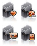 Design Elements 51i. Internet Computer and Software Icons Set are a high resolution image with CLIPPING PATH for easy remove unwanted shadows underneath vector illustration