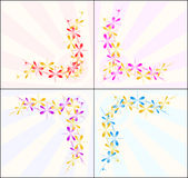 Design elements. For background or banner Royalty Free Stock Image