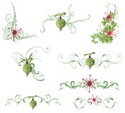 Design elements. Set of Christmas design elements Royalty Free Stock Photography