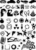 Design elements. Various vector design elements illustration Royalty Free Stock Photography