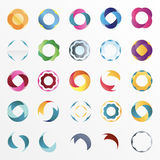 Design elements. Vector design elements on a white background Stock Photo