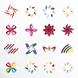 Design elements. Vector design elements on a white background Royalty Free Stock Photo