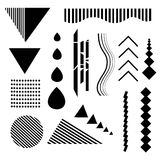 Design elements. Abstract line geometric background. I royalty free illustration
