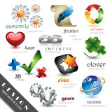 Design Elements And Icons Stock Images