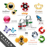 Design Elements And Icons Royalty Free Stock Photography