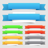 Design elements: banners Royalty Free Stock Image