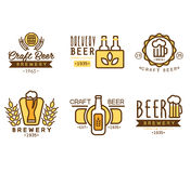 Design Elements for Beer House Royalty Free Stock Photo