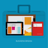 Design Elements for Business Social Networking Royalty Free Stock Images
