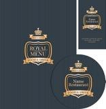 Design elements for cafe or restaurant Stock Images