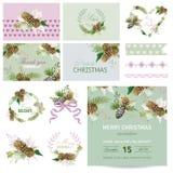Design Elements - Christmas Theme Stock Image