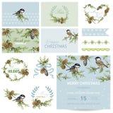 Design Elements - Christmas Theme Stock Images
