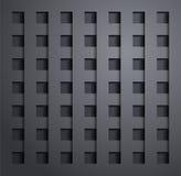 Design elements of dark metal. Vector image vector illustration