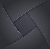 Design elements of dark metal Stock Images