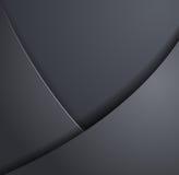 Design elements of dark metal. Vector image stock illustration