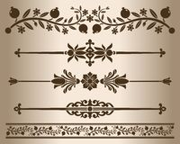 Design elements Royalty Free Stock Images