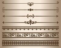 Decorative elements. vector illustration