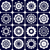 Design elements. Decorative patterns set. Royalty Free Stock Photo