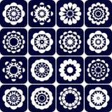 Design elements. Decorative patterns set. Royalty Free Stock Photo