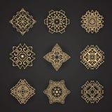 Design elements graphic Thai design Royalty Free Stock Images