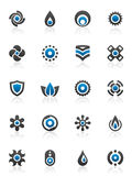 Design elements and graphics. Set of 20 design elements and various graphics Stock Image