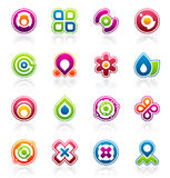 Design elements and graphics Stock Image