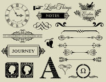 Design Elements - Header Collection Stock Photography