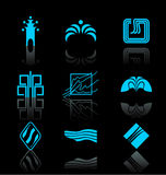 Design Elements - Icon Set (1) Royalty Free Stock Photos