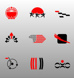 Design Elements - Icon Set (5) Stock Image