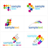 Design elements.  Icons set. Design elements. Vector. Icons set Royalty Free Stock Photography