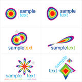 Design elements. Icons set. Vector Royalty Free Stock Image