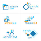 Design  elements or logo - abstract illustration. Stock Photos