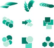 Design elements and logos Stock Photo