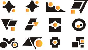 Design elements and logos Stock Image