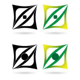 Design elements or logotypes Stock Images