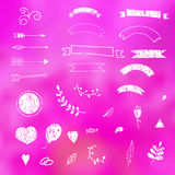 Design elements love. Royalty Free Stock Image