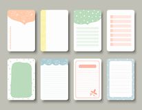 Design elements for notebook, diary, stickers and other template.vector,illustration. Design elements for notebook, diary, stickers and other template.vector stock illustration
