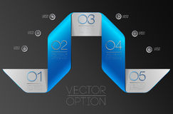 Design elements  for options Royalty Free Stock Photos